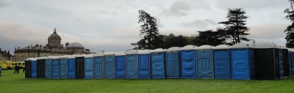 Toilet hire for outside pubs and premises